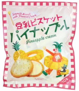 豆乳ビスケットパイナップル味